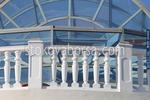 Проектиране и изработка на балюстри от мрамор за тераси по поръчка