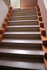 Изработка на стълби с мраморна облицовка