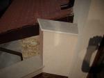 Външен подпрозоречен перваз - готово изделие, изработено от гранит