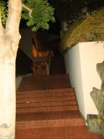 Проект за стълби с облицовка от тухли