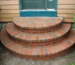 Изработка на стъпала от тухла