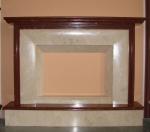 Камина от травертин с избор на форма и размер