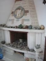 Изработка на камина от травертин по готов размер