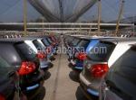 Защитна мрежа срещу слънце за паркинг