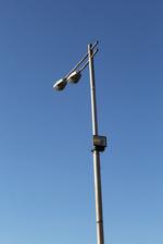 Метални стълбове за улично осветление по поръчка