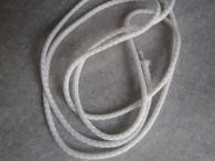 Бял шнур въже