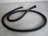 Черен шнур въже