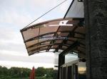 изграждане на навеси от поликарбонат за къщи и вили