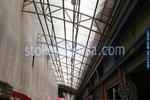 поликарбонатни навеси за търговски центрове по поръчка