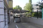 поликарбонатен навес за подземен гараж по поръчка