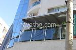 поликарбонатен навес за балкон по поръчка