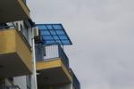 навес поликарбонатен за балкон