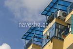 навес от поликарбонат за балкони по поръчка