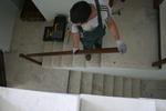 по поръчка монтаж на дървени парапети за стълби