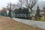 метални пана за огради