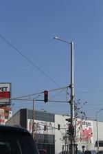 изработка на стълбове за улично осветление