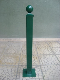 Метално противопаркингово колче
