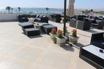 Вносни бетонни кашпи за хотели от различни материали за хотели