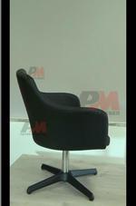 избор на различни решения за тъмни  офис кресла